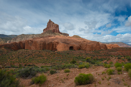 national monument: grand staircase-escalante national monument utah landscape Stock Photo