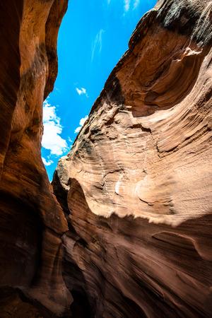 escalante: Peek-a-boo Gulch Escalante National Monument Utah