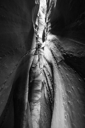 slot canyons: Spooky Gulch Short Canyon Grand Staircase-Escalante