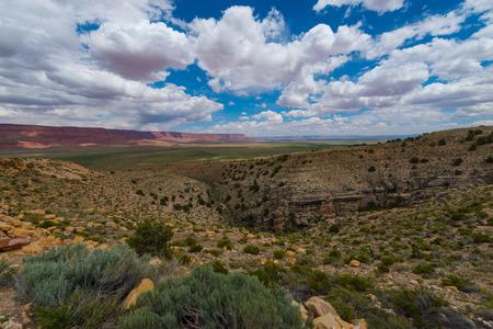 arizona landscape: Vermilion Cliffs Highway Overlook Arizona Landscape