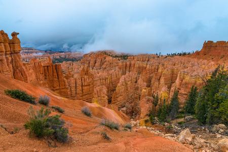 peekaboo: Peek-a-boo loop trail Bryce Canyon National Park Stock Photo
