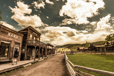 Hags Ranch Legends of the West Rodeo Ridgway Colorado Stok Fotoğraf
