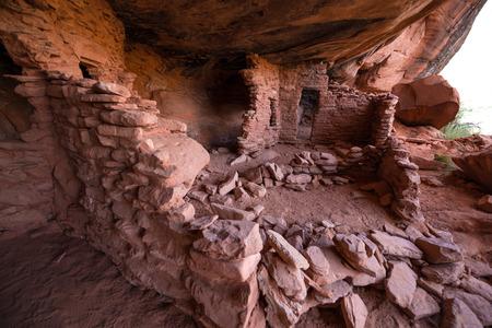 anasazi ruins: Indian Ruins near halls crossing Utah