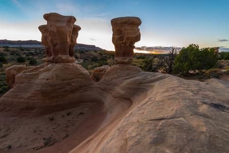 the devils garden: Devils Garden Grand Staircase-Escalante National Monument Utah USA