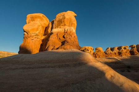 national scenic trail: The Devils Garden of the Grand Staircase-Escalante National Monument
