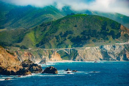bixby: Big Sur Coast at the Bixby Creek Bridge, Monterey County, California, USA.