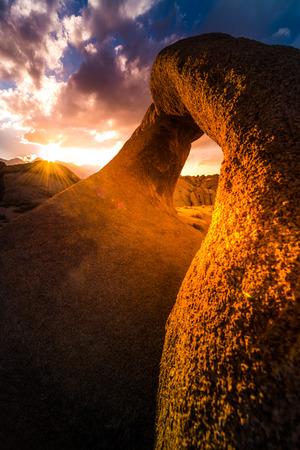 lone pine: Mobius Arch Alabama Hills Lone Pine California