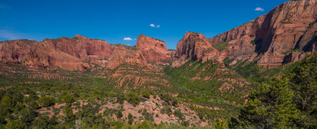 canyons: Kolob Canyons Landscape Overlook Zion National Park
