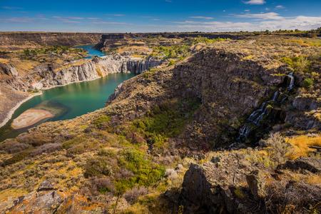 Shoshone Falls Idaho Snake River Canyon Jerome County