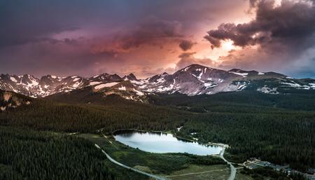 Brainard Lake Recreation Area Indian Peaks Colorado