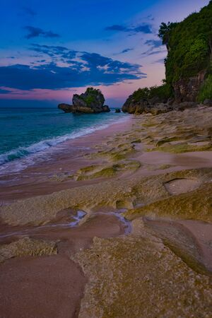 After Sunset at Labuan Sait Beach Bali Indonesia