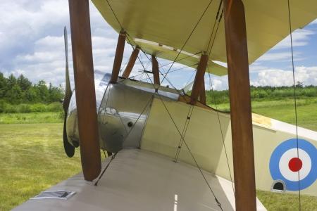 struts: World war one classic 1916 Sopwith Pup airplane