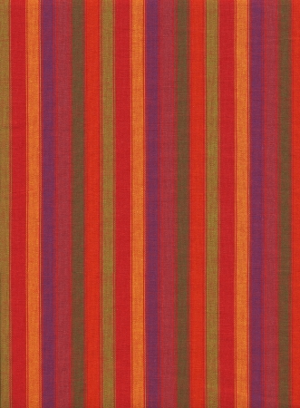 Red purple green and orange Striped cotton fabric background.  photo