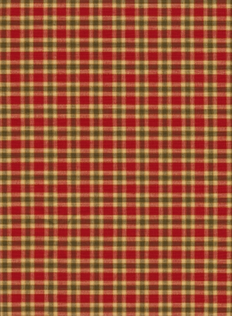 Red black and tan plaid textile background. photo