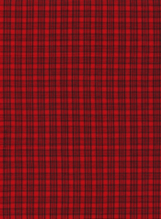 christmas backdrop: Red and black plaid fabric background.
