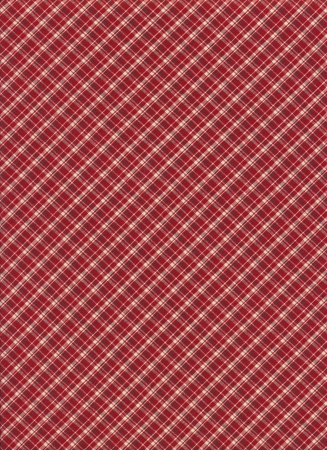 Red and white plaid textile background. photo