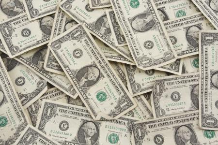 jack pot:  one dollar bills