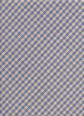 Blue and gray diagonal checkered tablecloth textile background  photo