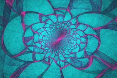 fractal flame: Generado por ordenador cerceta v�rtice llama fractal Foto de archivo