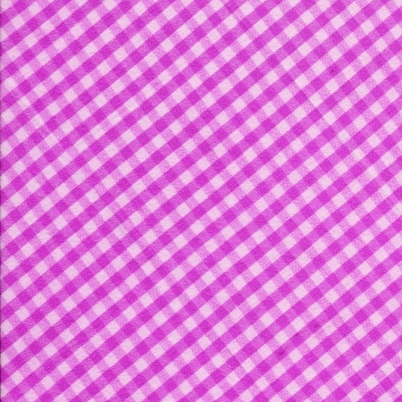 White and Pink checkered design fabric background