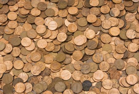 pennies:  Background of American Pennies