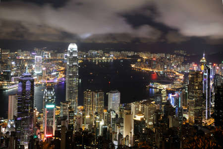 Hong Kong Night View photo