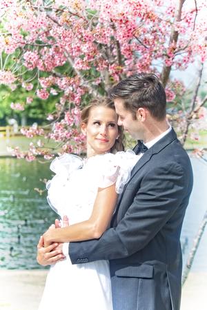 Hapoy Wedding Couple