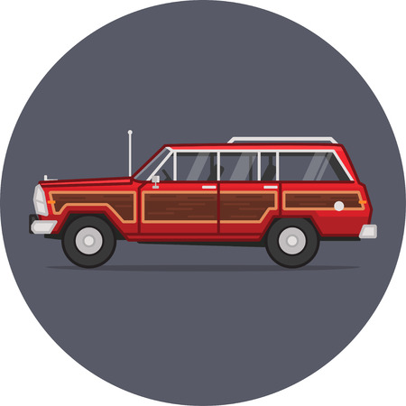 breaking wheel: Jeep Grand Wagoneer from Breaking Bad TV show.