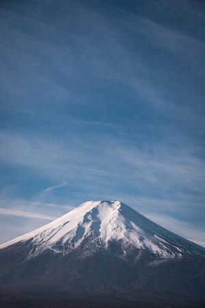 Mt. Fuji under the Blue Sky