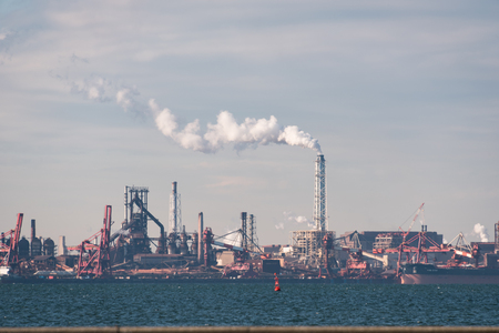 Factories in the Industrial Zone