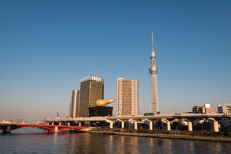 Tokyo Skytree and Tokyo Skyline from Asakua