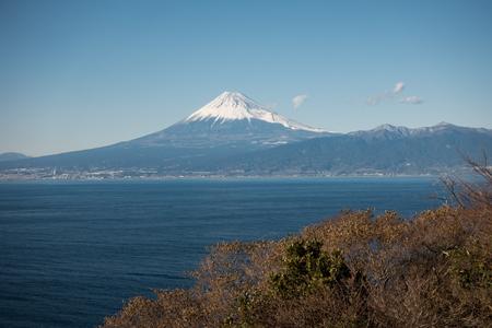 Mt. Fuji over the Ocean