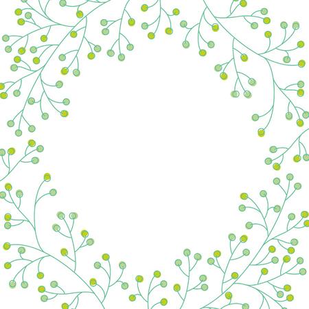 Plant background illustration