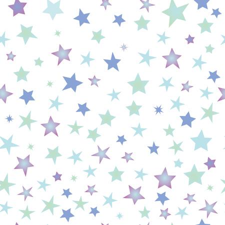 Seamless pattern stars Illustration