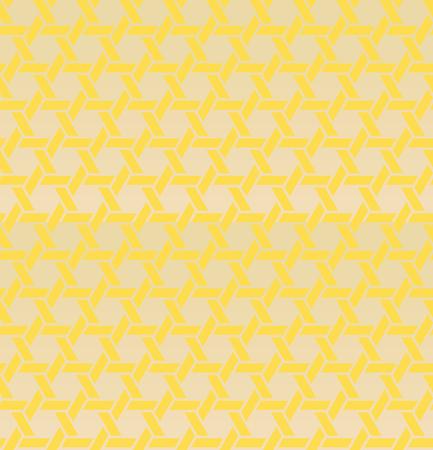 Seamless pattern hexagonal geometry, vector illustration. Illustration