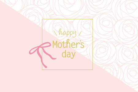 Mother's day background illustration