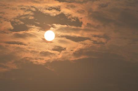 Beautiful sun in the morning