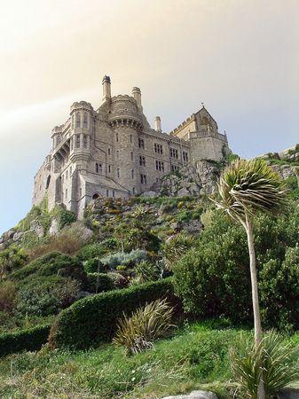 st. michaels mount castel and garden photo