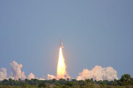Atlantis Shuttle Launch STS-122 photo