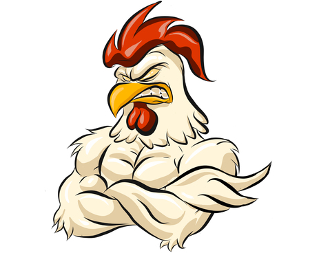 Muscular Chicken Half Body