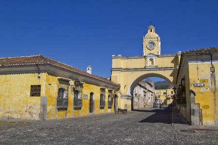 antigua: Santa Catalina arch in Antigua Guatemala