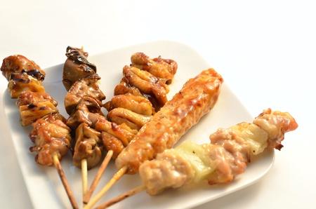 Poulet grill� Char-Yakitori