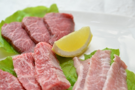 Korean cuisine  Yakiniku  Stock Photo - 14700768