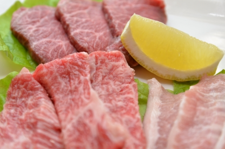 Korean cuisine  Yakiniku Stock Photo - 14700769