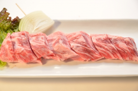 Japanese beef yakiniku Stock Photo - 15365213