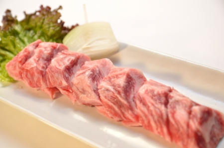Japanese beef yakiniku photo