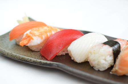 Sushi, Japanese traditional dishes