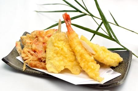 tempura Cet ia une photo de Tempura C'est des plats traditionnels au Japon