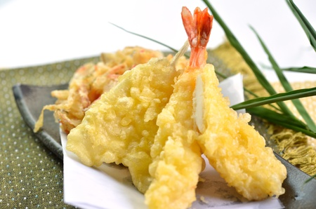 tempura  This ia a picture of Tempura  That is traditional dishes in Japan  photo
