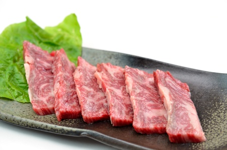 Yakiniku, Japanese beef Stock Photo - 15590041